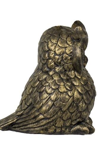 Qdec Baykuş Biblo Altın